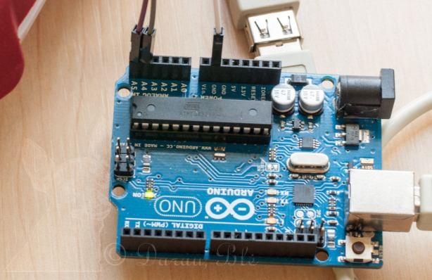 Raspberry Pi ir Arduino sujungti per I²C magistralę | Darau, blė