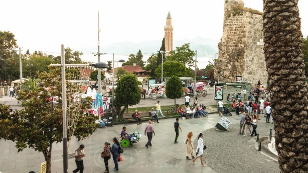 Miesto centras prie pat Antalijos senamiesčio, Kaleiçi | Kelionės | Darau, blė