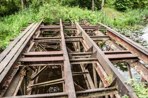 Tankų tiltas per Judrės upelį | Darau, blė