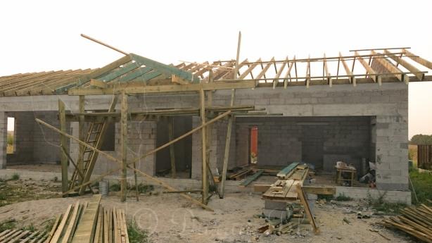 Teisingai perdarytas stogelis virš durų | Statybos | Darau, blė