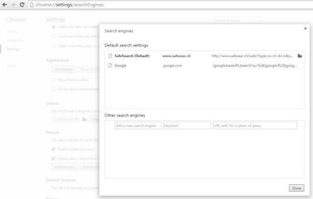 Search Engine enforced by administrator   Kompai   Darau, blė