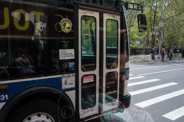 Elektrinis autobusas Manhetene | Darau, blė