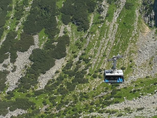 Keltuvas į Kasprowy Wierch viršukalnę prie Zakopanės | Darau, blė
